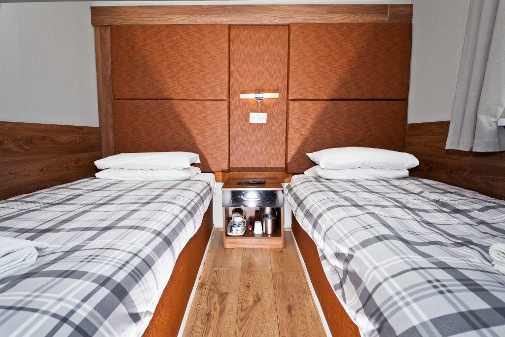 Cog & Wheel - long stay hotel room