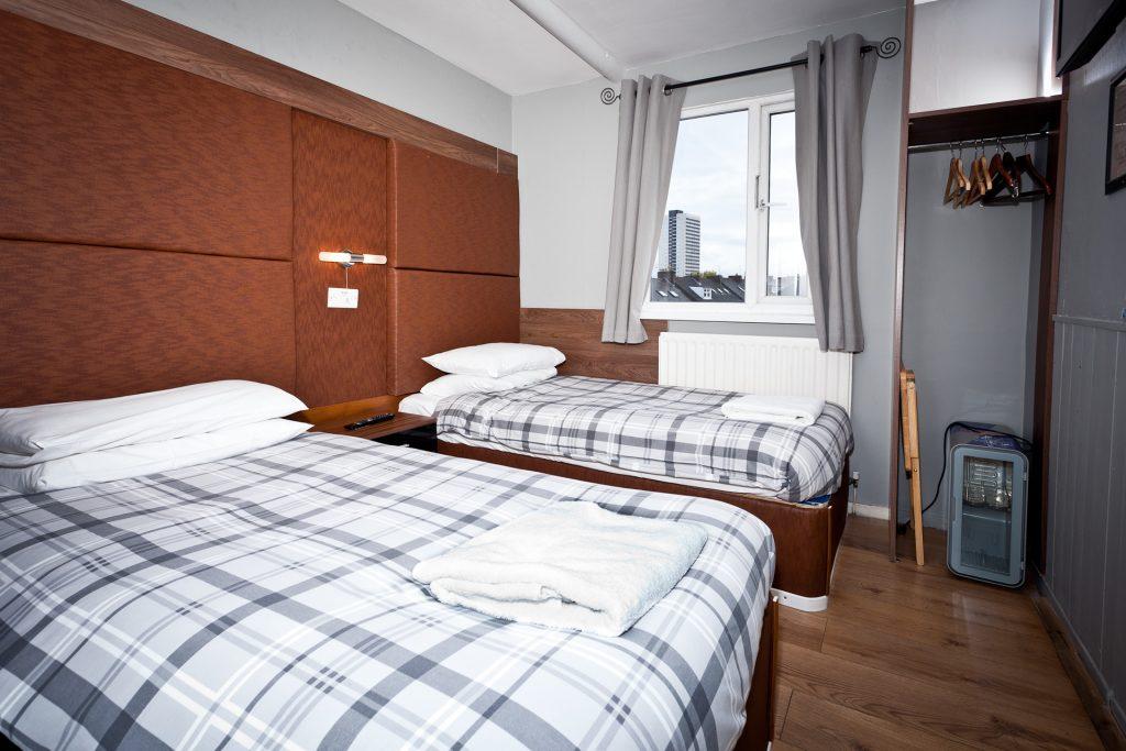 Cog & Wheel - long term stay hotel room